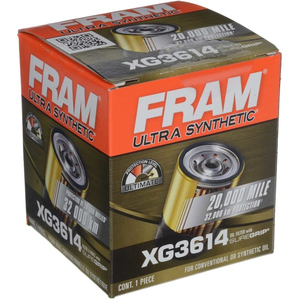 Fram Ultra Spin Oil Filter Xg3614 Replacement Parts Exchange