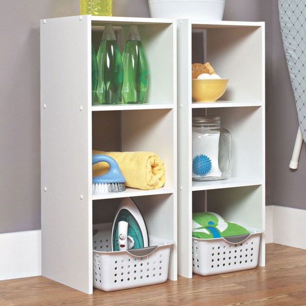 Closetmaid Stackable Vertical Organizer Storage Cubes