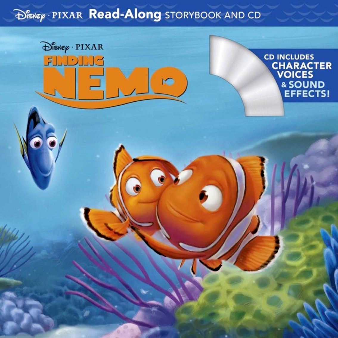 Disney Pixar Finding Nemo Read Along Storybook And Cd