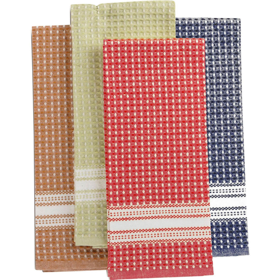 martha stewart kitchen towels 28 inch sink collection waffle weave set