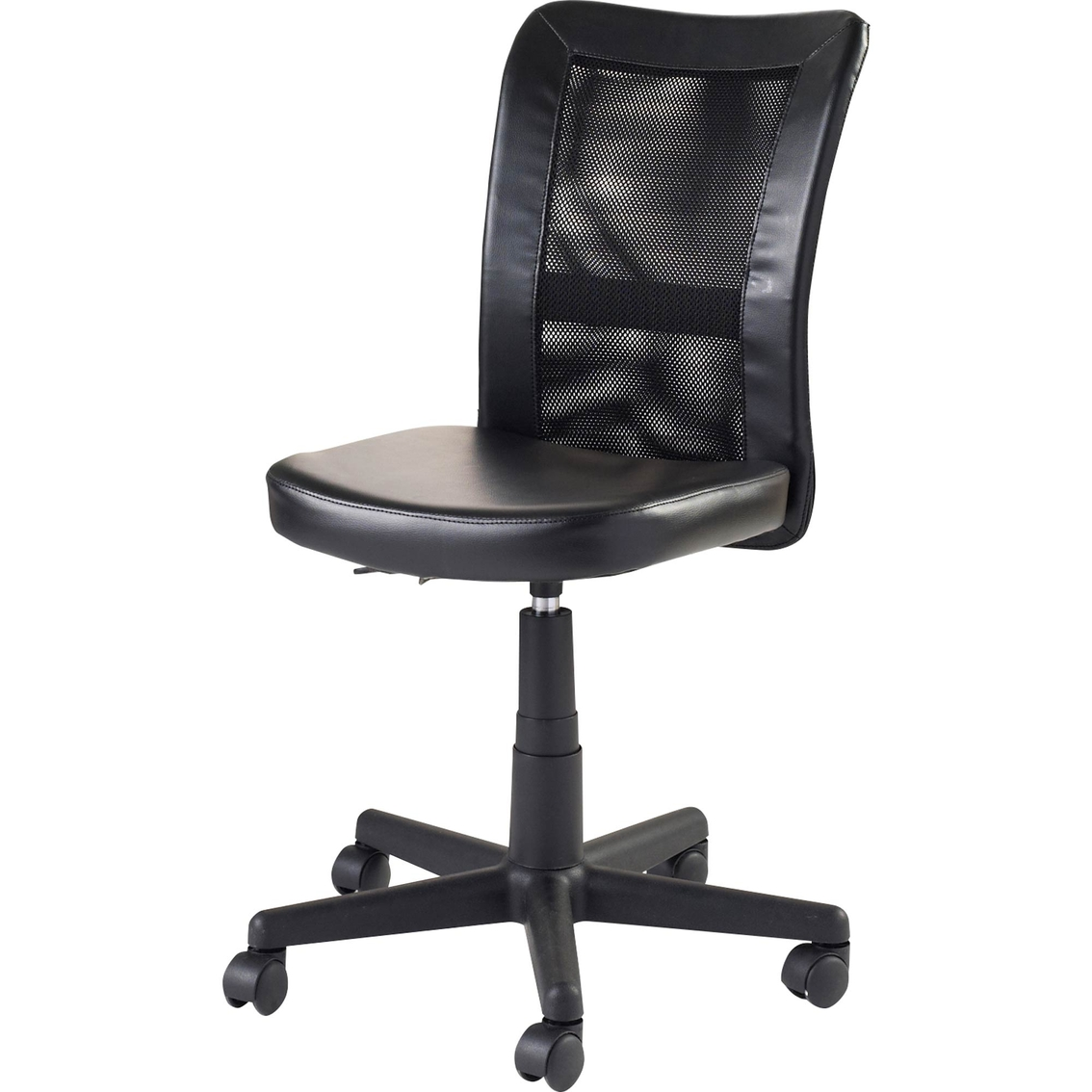 True Innovations Black Mesh Task Chair  Office Chairs