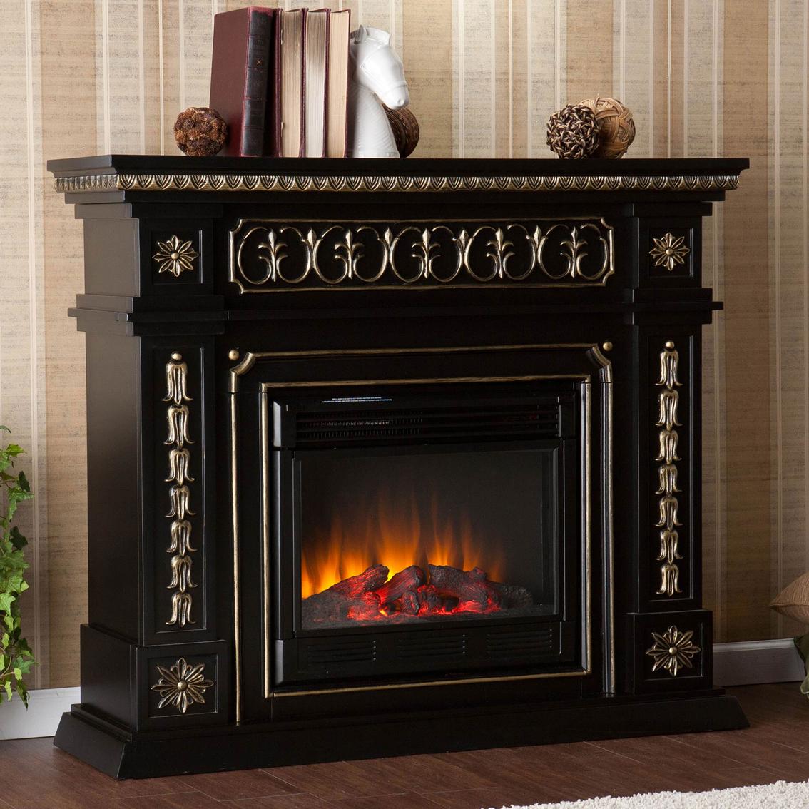 Sei Provincial Electric Fireplace