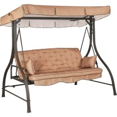 Swing Chair Replacement Parts Yoga Courtyard Creations 3 Seater Hammock Hammocks