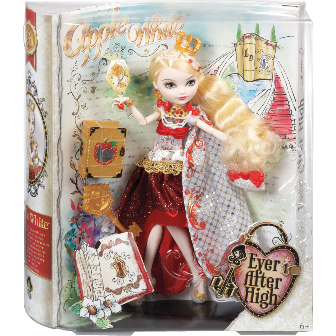 Mattel Ever After High Legacy Day Apple White Doll Doll