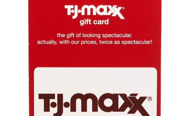 T J Maxx 50 Gift Card Home Gifts Food Shop The Exchange