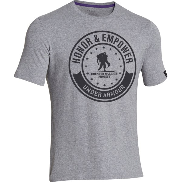 740a4e1a Under Armour Wounded Warrior Project Shirt - Year of Clean Water
