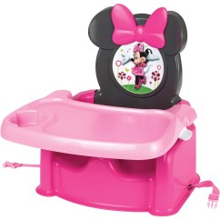 Baby Chair Seat Rocking Footstool The First Years Disney Minnie Mouse Booster Seats