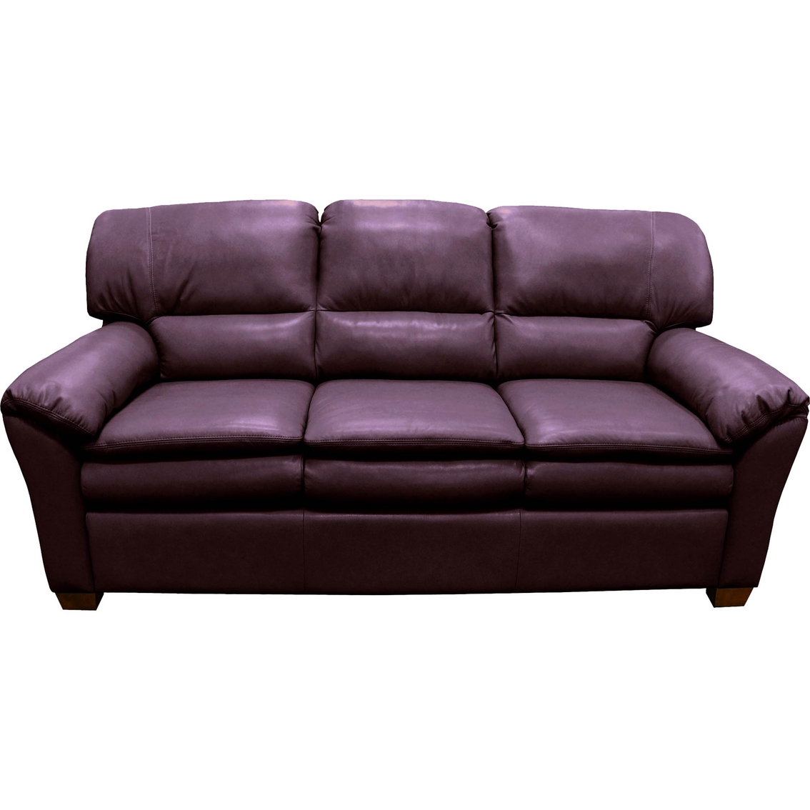 plum leather sofa set informa  thesofa