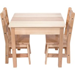 Play Table And Chairs Theatre Chair Accessories Melissa Doug Wooden Set