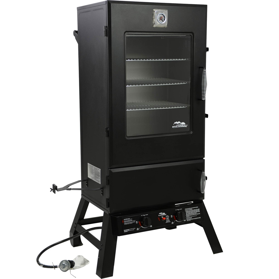 masterbuilt 44 in propane smoker with