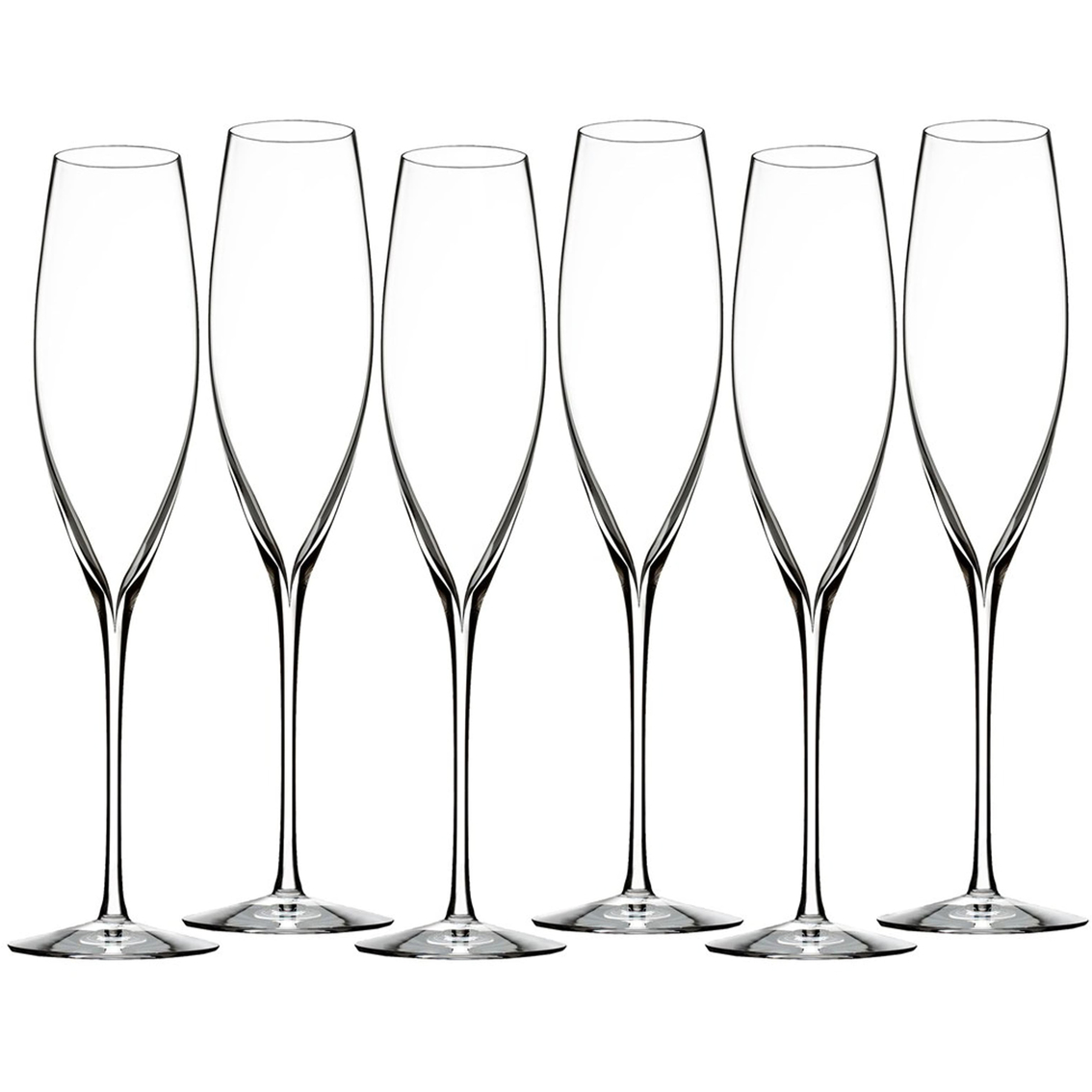 Waterford Elegance 6 Pc. Classic Champagne Toasting Flute