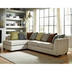 2 Pc Laf Sectional Sofa Harvey S Corner Collection Benchcraft Casheral Raf