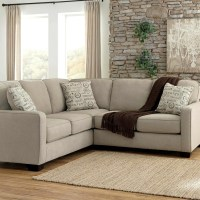 Small 2 Pc Sectional Sofa Kerri Charcoal 2 Piece Sectional ...