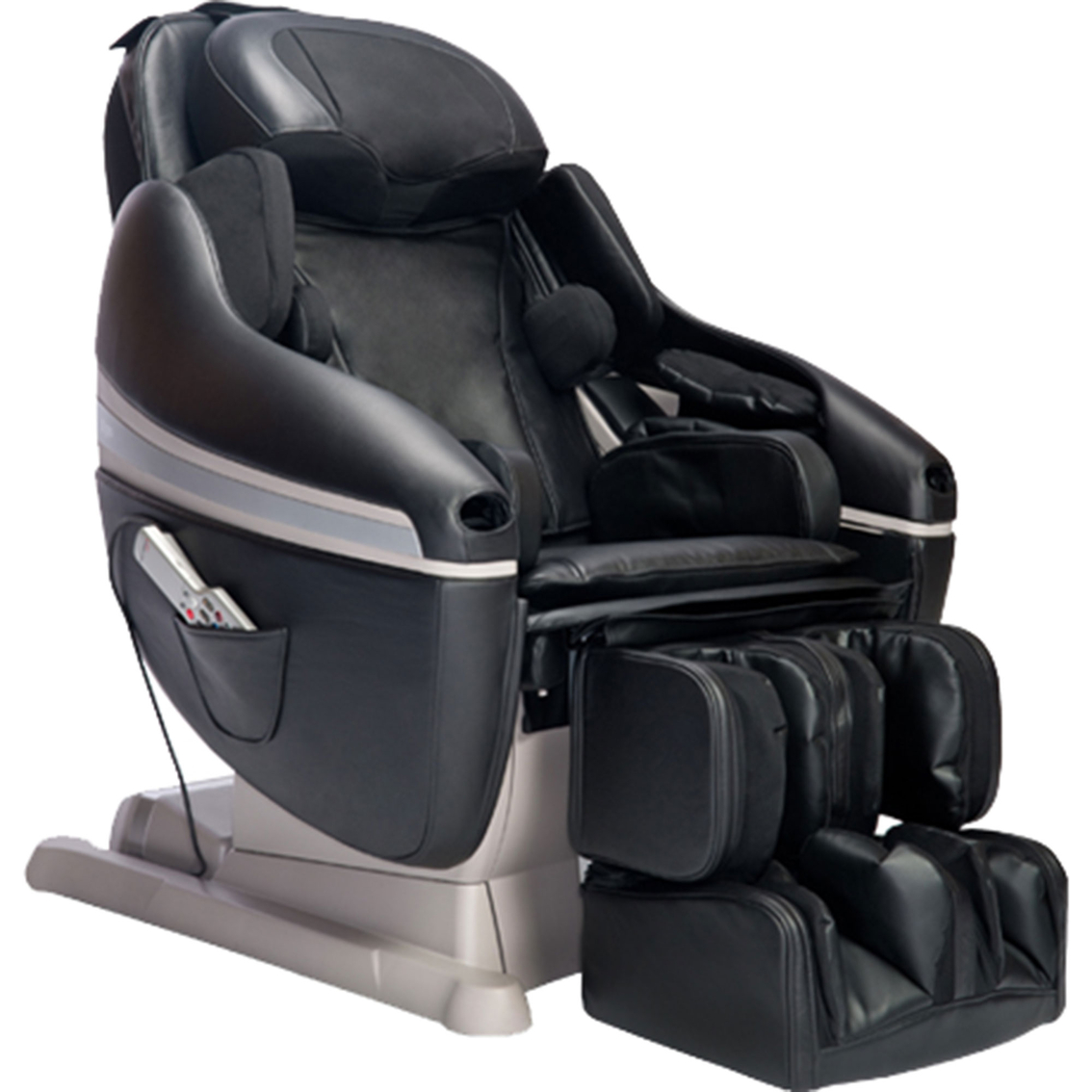 black massage chair mid century modern lounge inada sogno dreamwave chairs