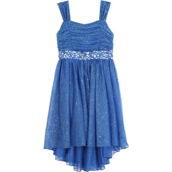 Speechless Little Girls Glitter Tulle Dress