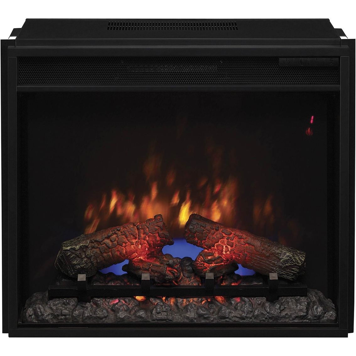 Twinstar Electric 23 In Classic Flame Fireplace Insert