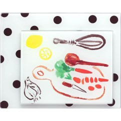 Kate Spade Kitchen Wall Mounted Cabinets By Lenox 2 Pc. Food Prep Board Set | Cutting ...