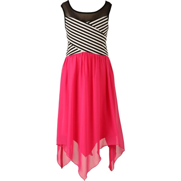 Speechless Girls Hanky Hem Illusion Dress 7-16