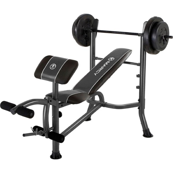 Marcy Standard Bench 80 Lb. Weight Set Strength