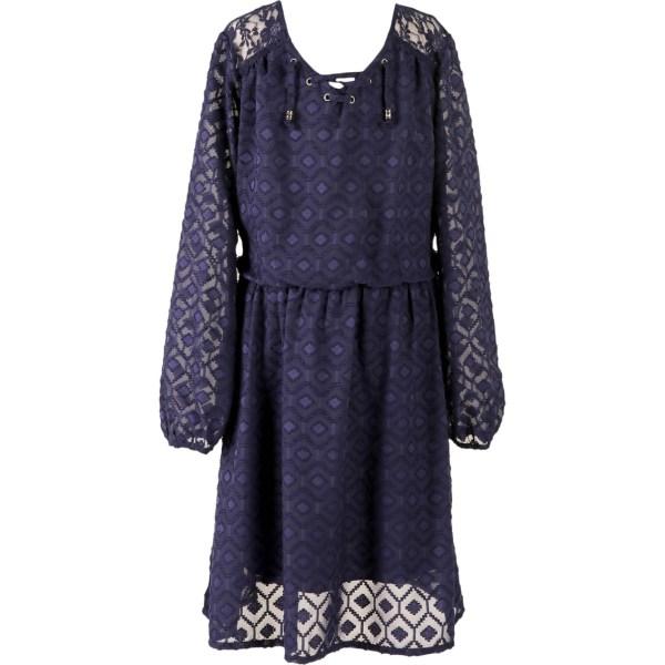 Speechless Girls Size Lace Neck Dress 7-16