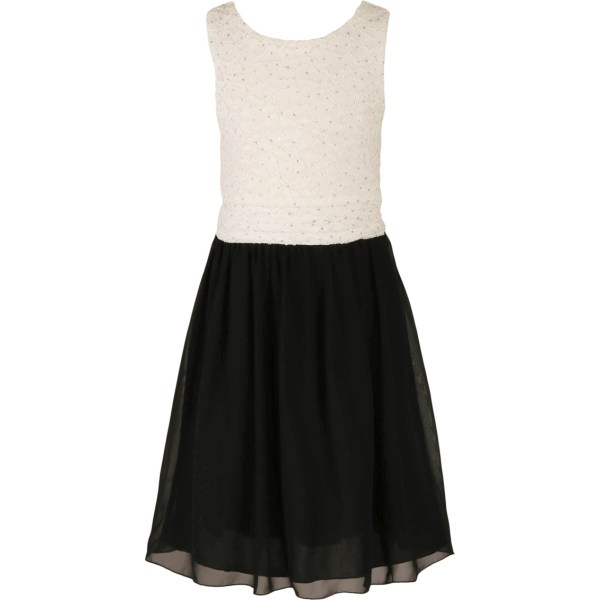 Speechless Girls Size Embroidered Bodice Solid Skirt
