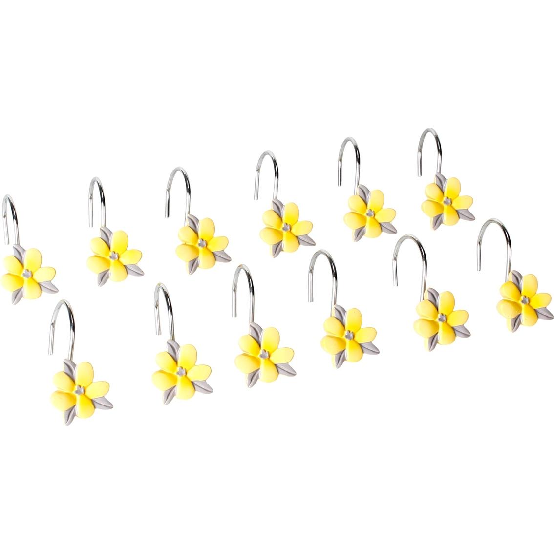 Saturday Knight Spring Garden Shower Curtain Hooks Shower