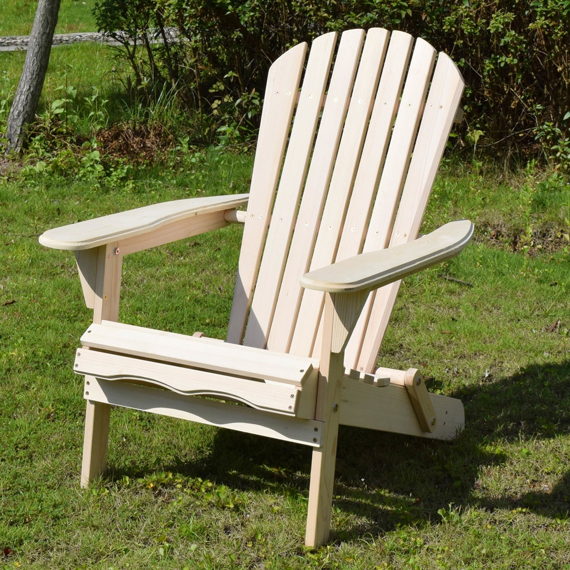 merry garden adirondack chair yellow products foldable kit