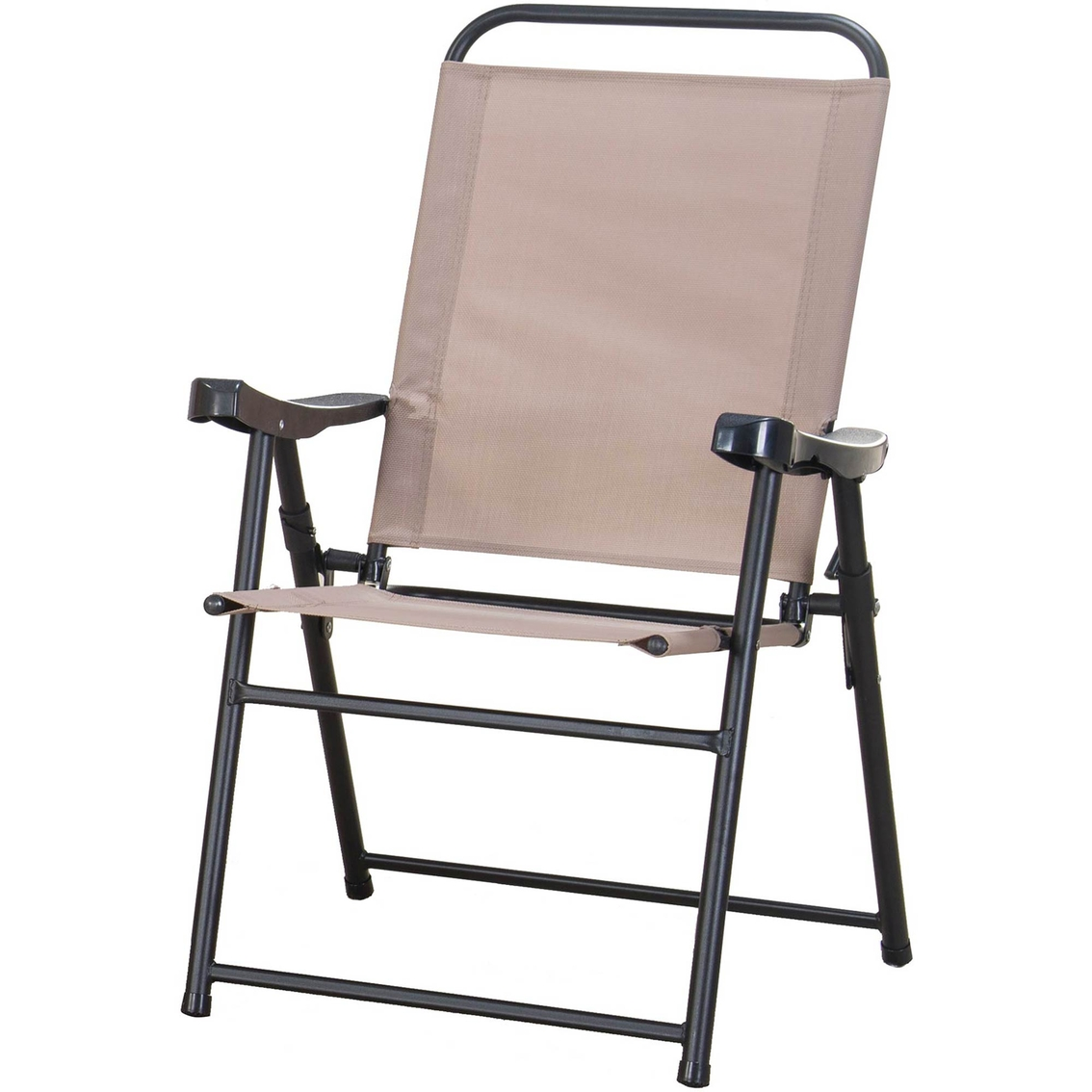 sling folding chairs oxo sprout high chair replacement parts courtyard creations tables and