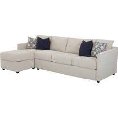 2 Pc Laf Sectional Sofa World Jaipur Klaussner Atlanta Raf Queen Sleeper