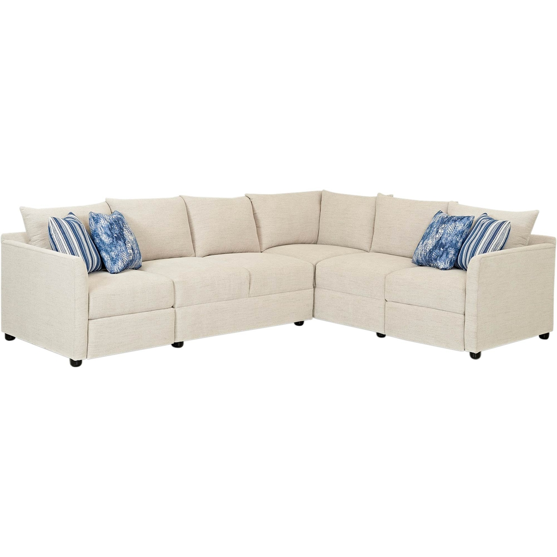 2 pc laf sectional sofa 3 seater dimensions in mm klaussner atlanta power reclining section