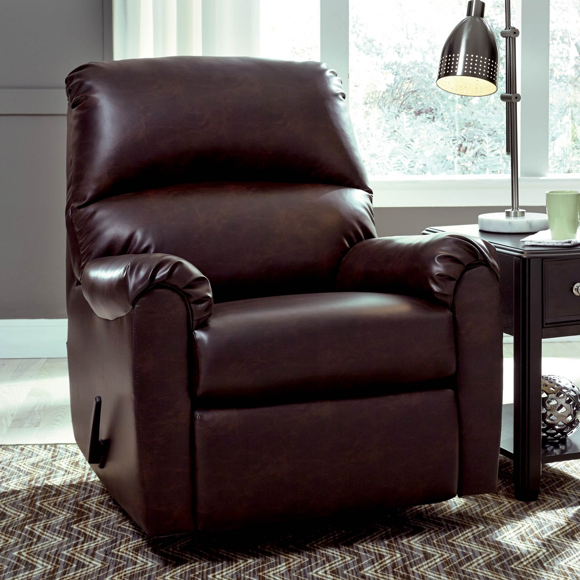 big and tall recliner chair costco baby ashley talco 41 in rocker chairs