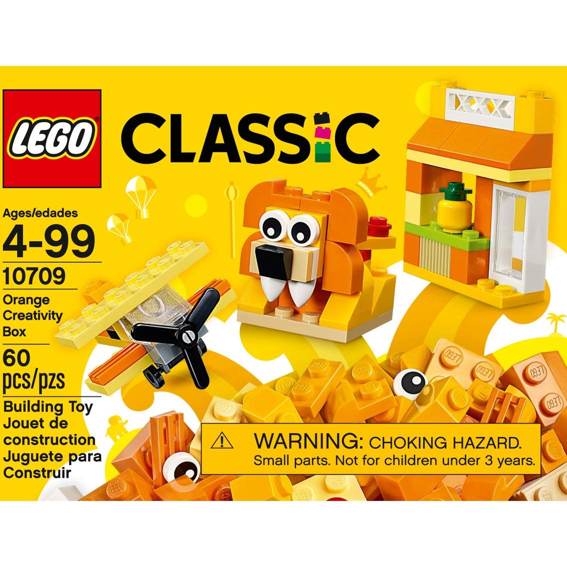 lego classic orange creativity