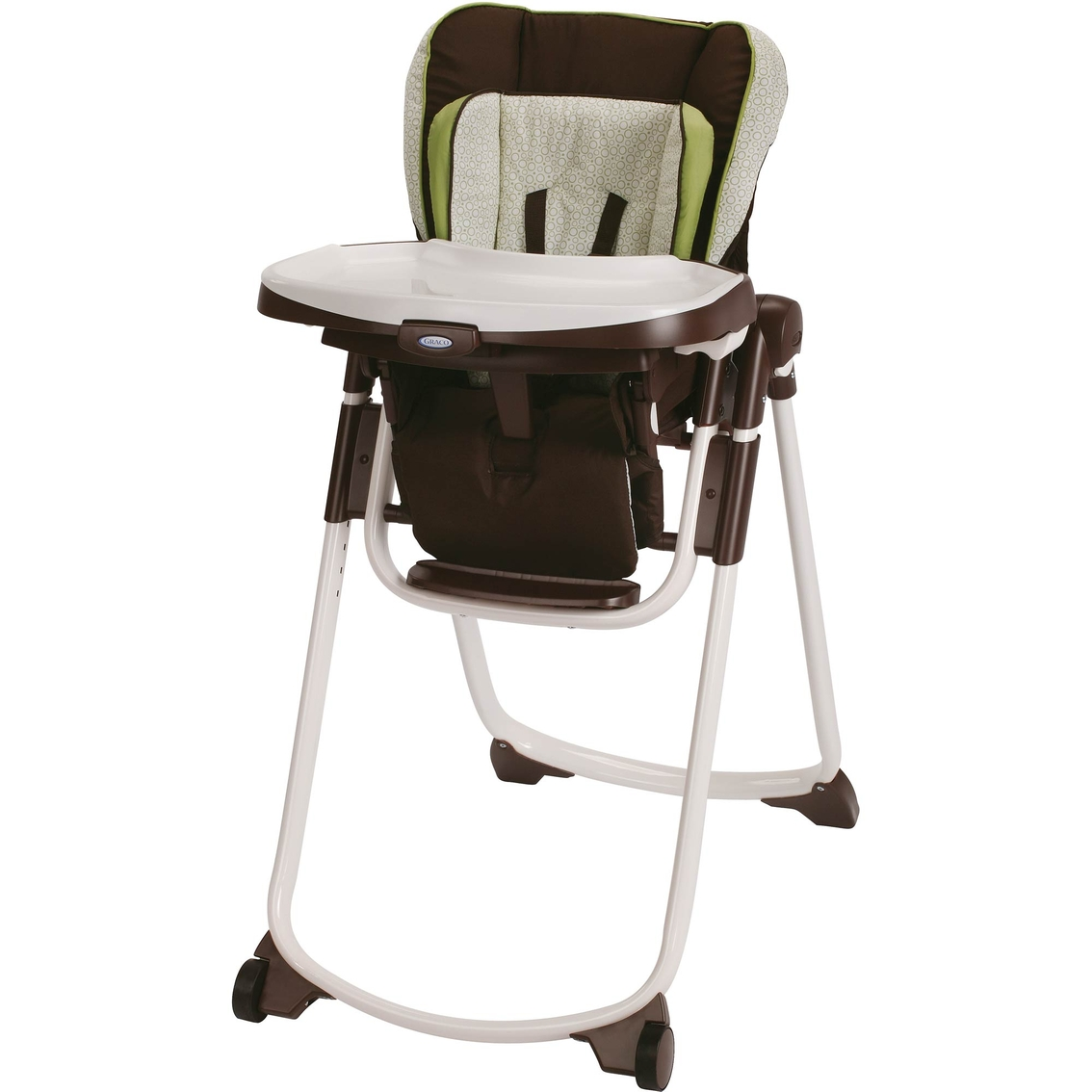 graco convertible high chair white wood kitchen chairs slim spaces highchair highchairs baby and toys