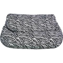 Zebra Print Bean Bag Chair Ercol Bedroom Jordan Manufacturing Velvet 2 Seater