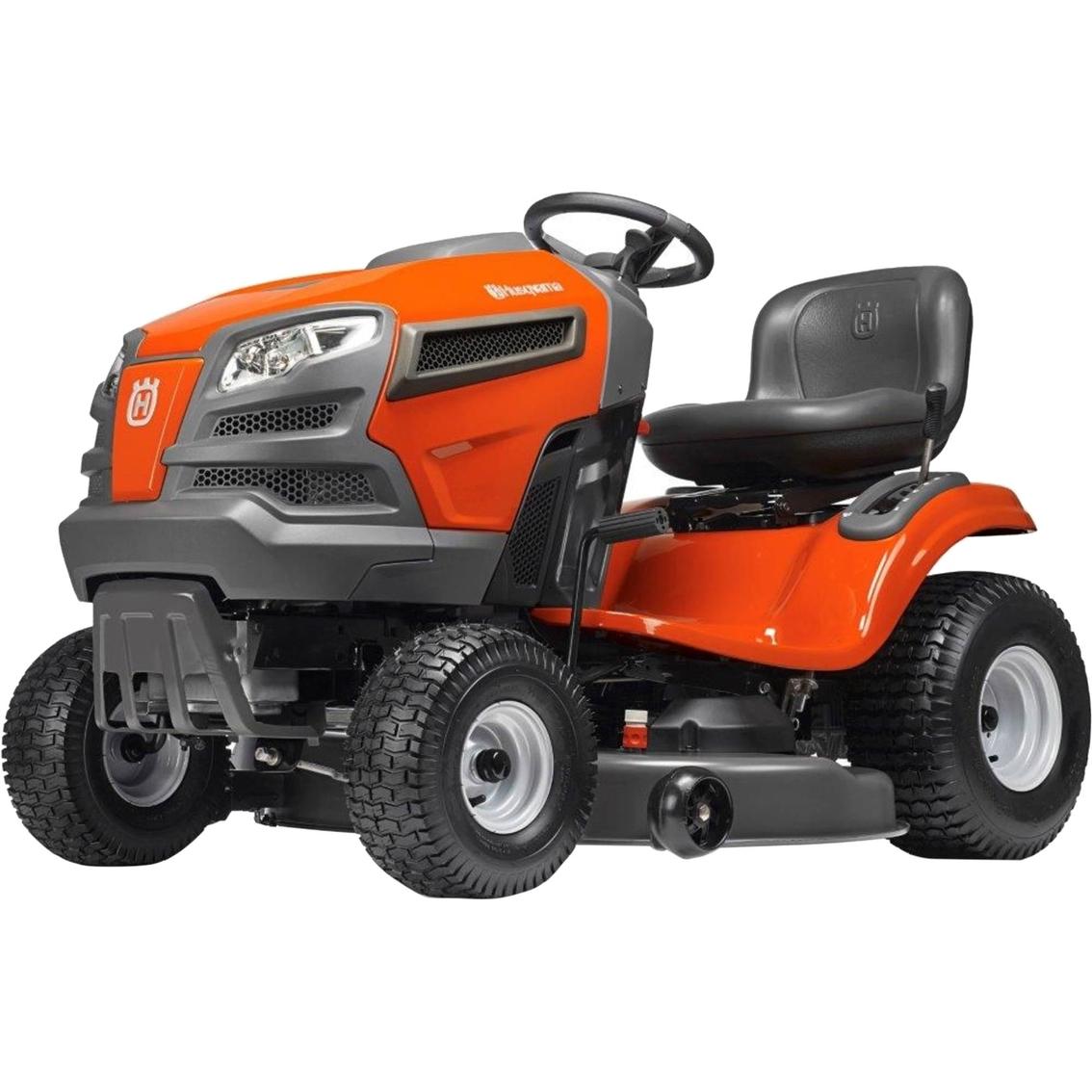 hight resolution of husqvarna 22 hp 46 in riding lawn mower