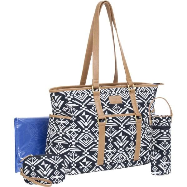 Carter' Studio Tote Aztec Diaper Bag Bags