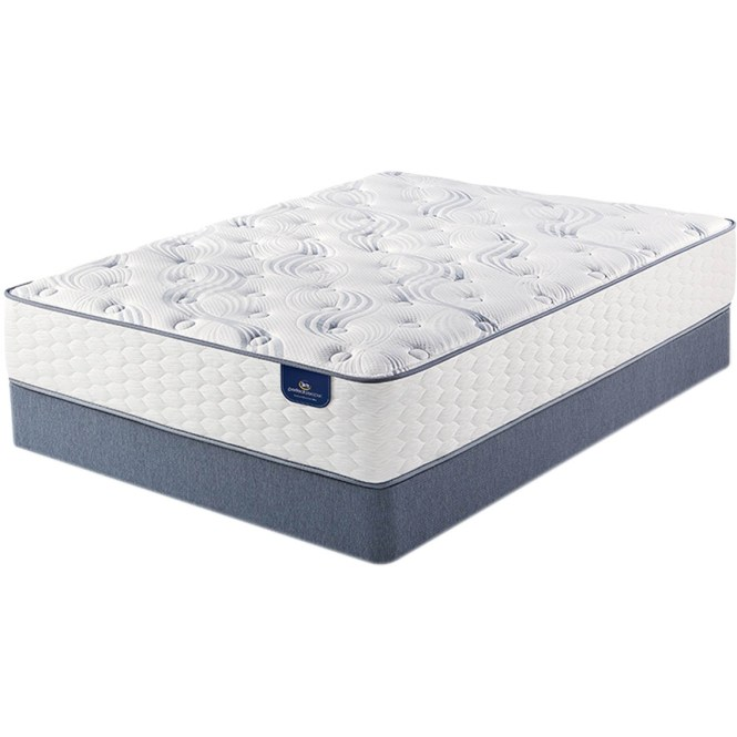 Serta Perfect Sleeper Evermoore Plush Mattress Set