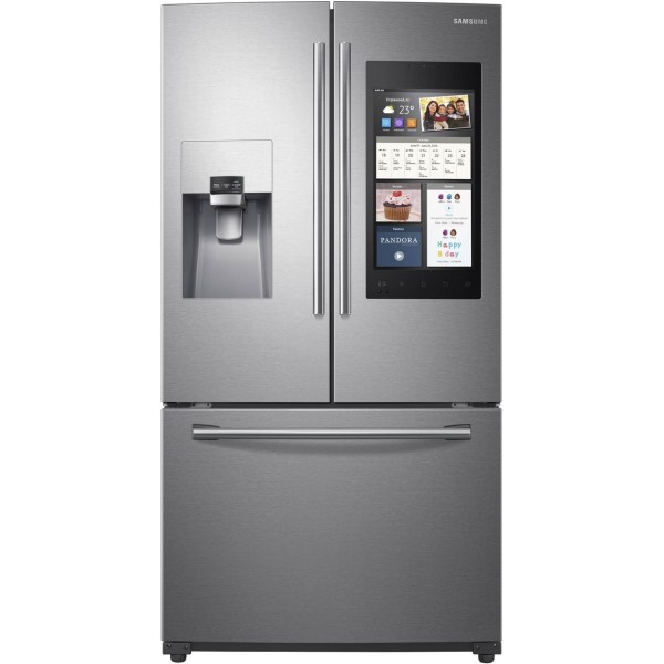 Samsung 24 Cu. Ft. French Door Refrigerator With Family Hub Refrigerators Home & Appliances