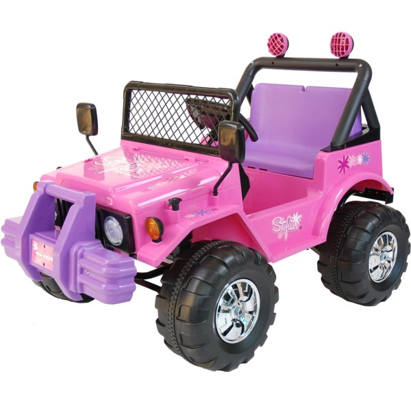 Kidtrax Avigo Traxx 12 Volt Electric Ride Pink Battery Powered Baby & Toys