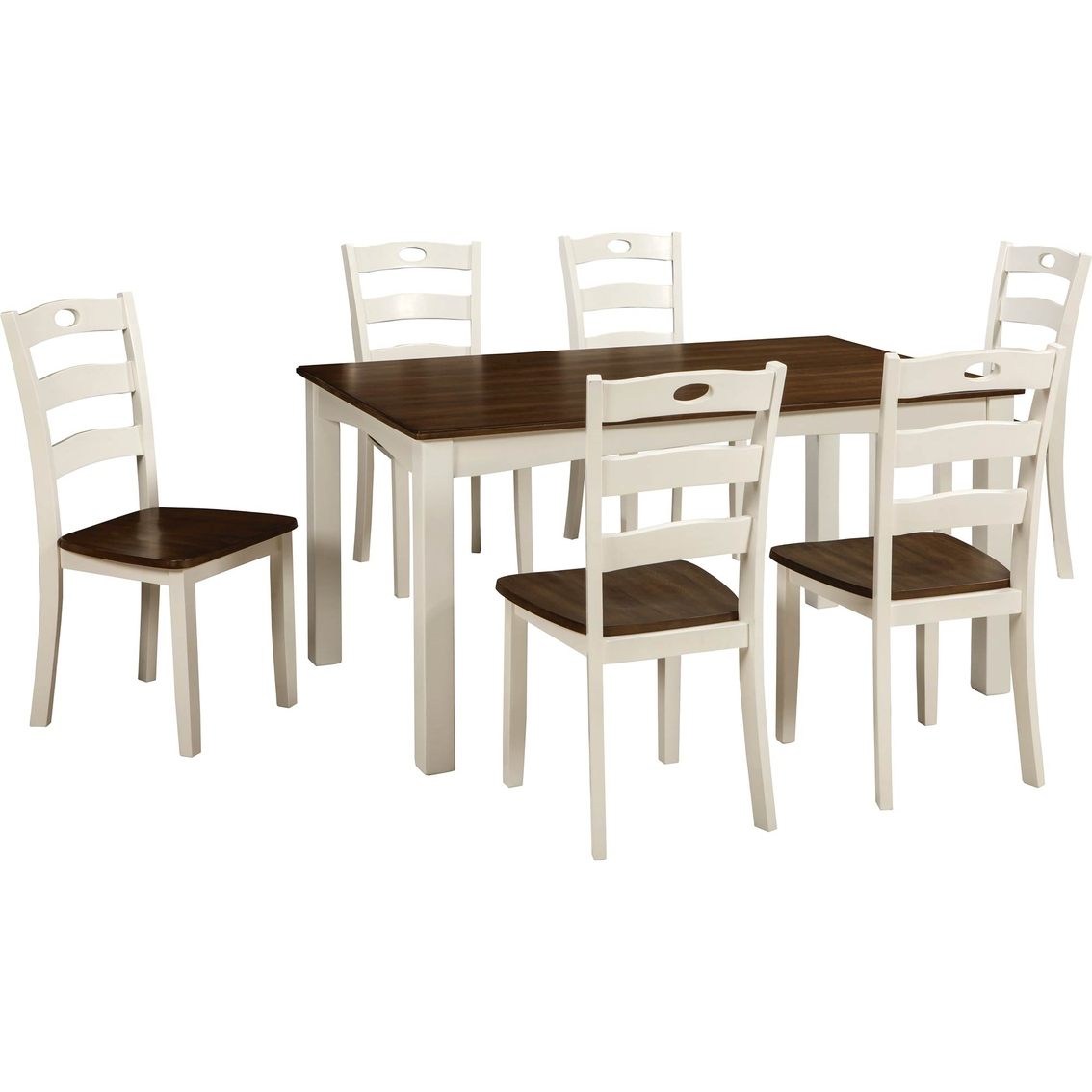 monarch double x back dining chairs unusual chair covers signature design by ashley woodanville room table