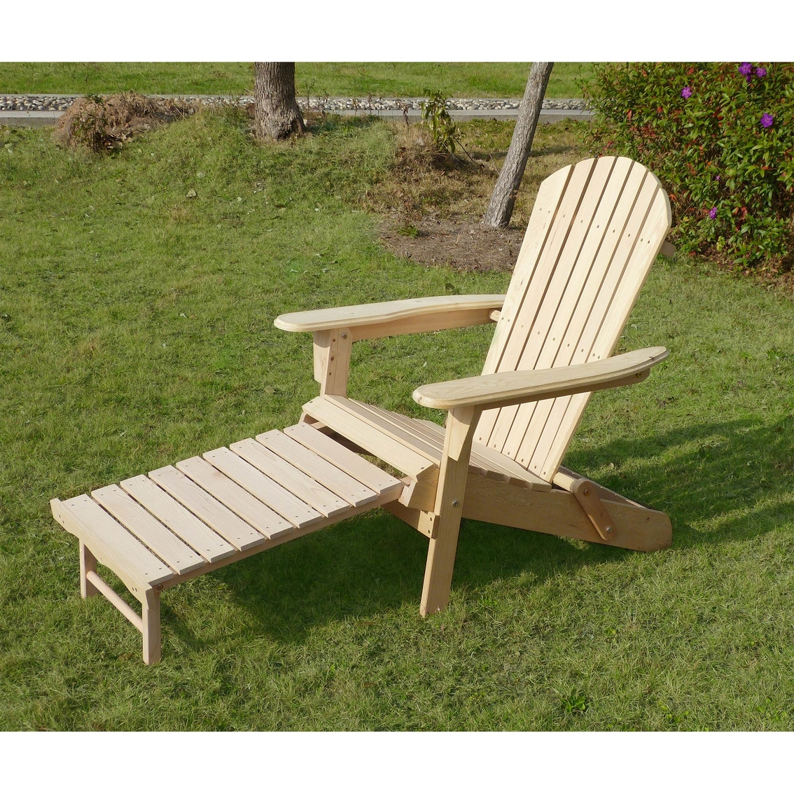 adirondack chair kit pier one peacock northbeam with pullout ottoman
