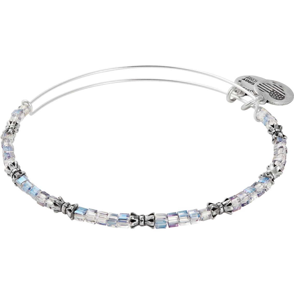 Alex And Ani Moon Celestial Beaded Bangle Bracelet