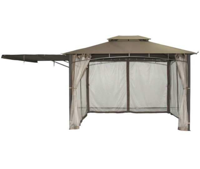 Gazebo With Detachable Awning