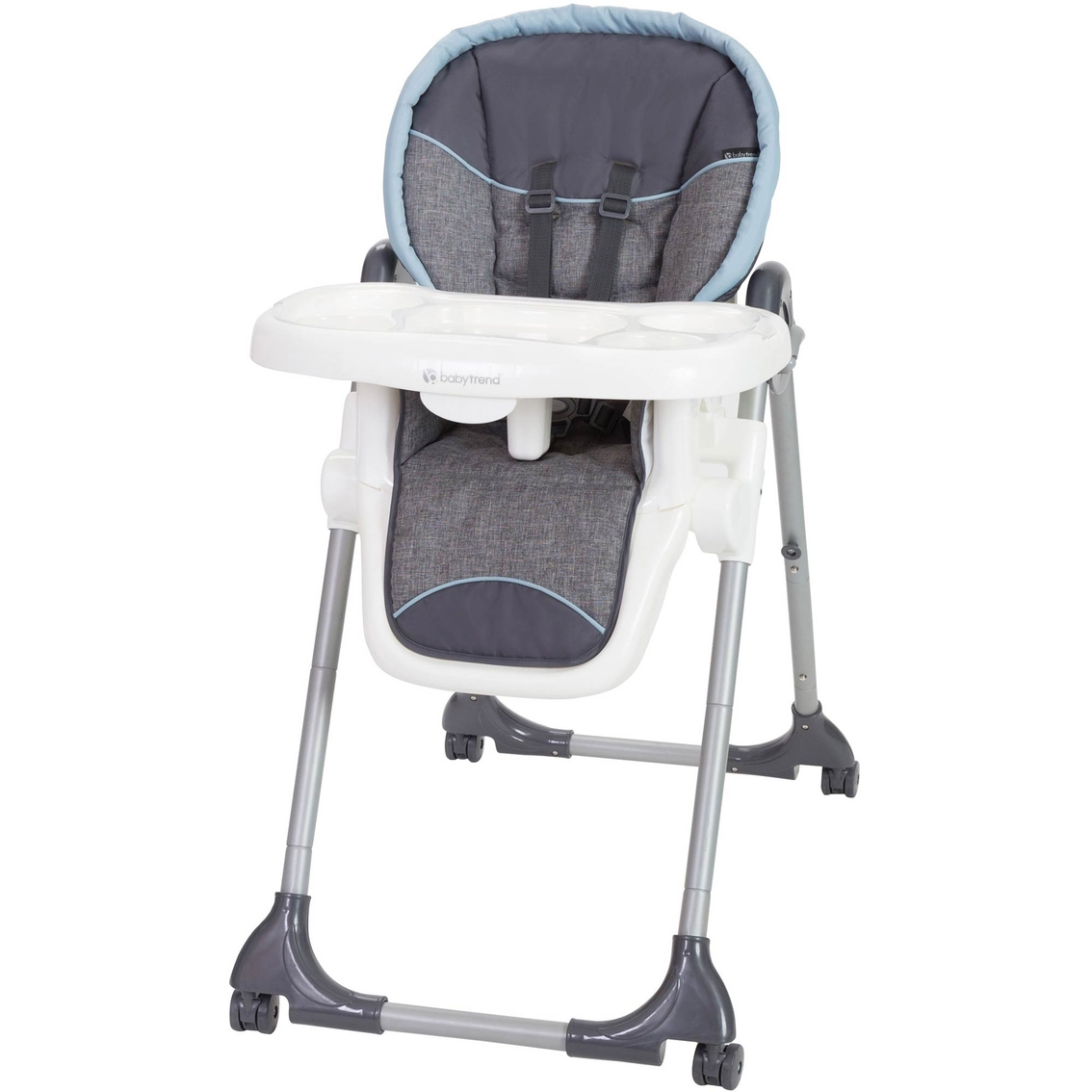baby trend high chair recline executive drafting dinetime 3 in 1 highchairs