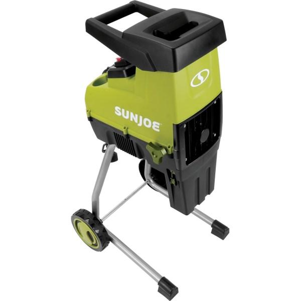 Sun Joe Cj603e Cutting Diameter Electric Silent Wood Chipper And Shredder Log Splitters