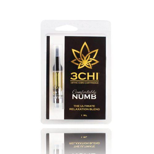 3CHI delta 8 THC CBN cartridge Comfortably Numb