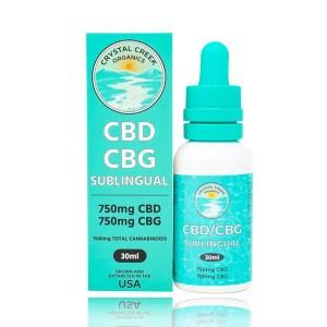 Crystal Creek Organics CBD_CBG Sublingual