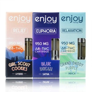Enjoy Hemp Delta-8 THC Vape Cartridges