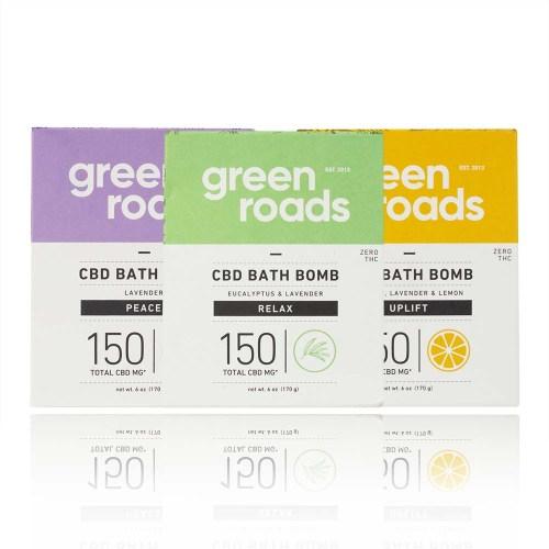 Green Roads Bath Bombs
