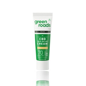 Green Roads Isolate CBD Skin Relief Cream Soothing